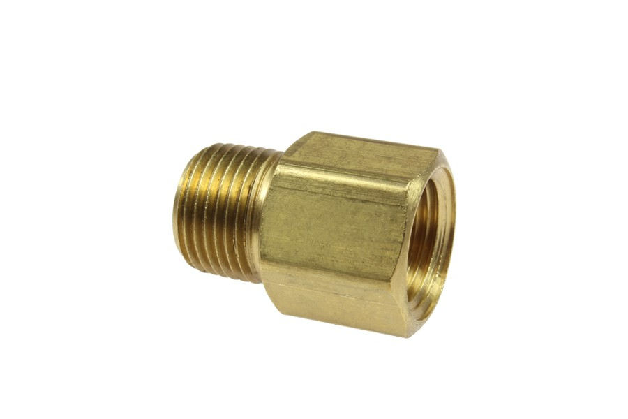 Coilhose brass hex adapter pipe fitting