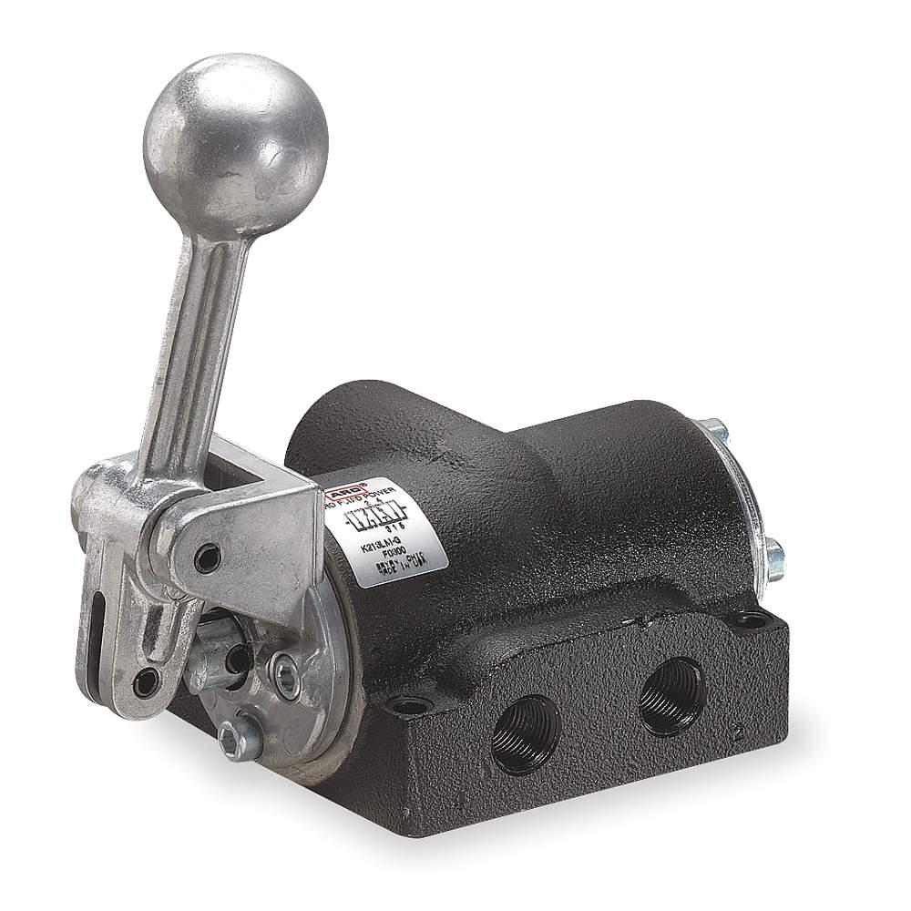 1 8 Manual Pull Air Valve : Manual air control valve way in npt aro ingersoll