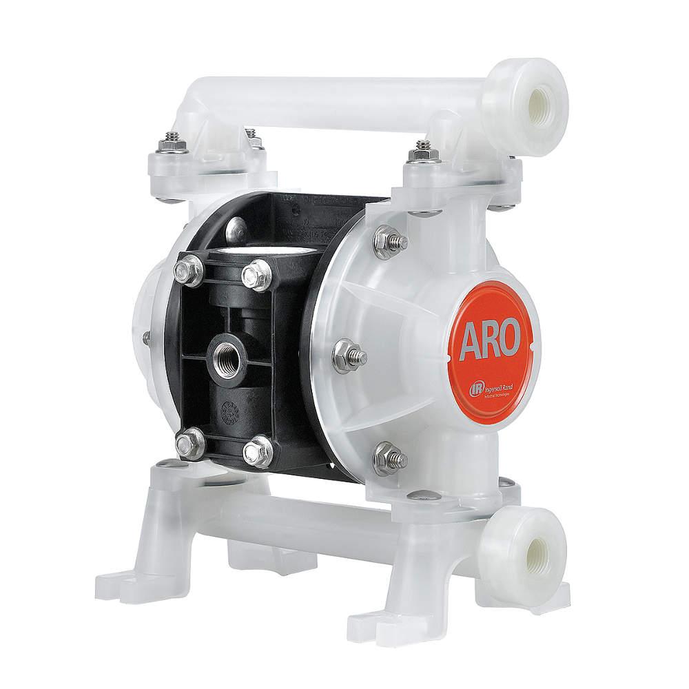 diaphragm pump air operated 3 8 in npt aro ingersoll. Black Bedroom Furniture Sets. Home Design Ideas